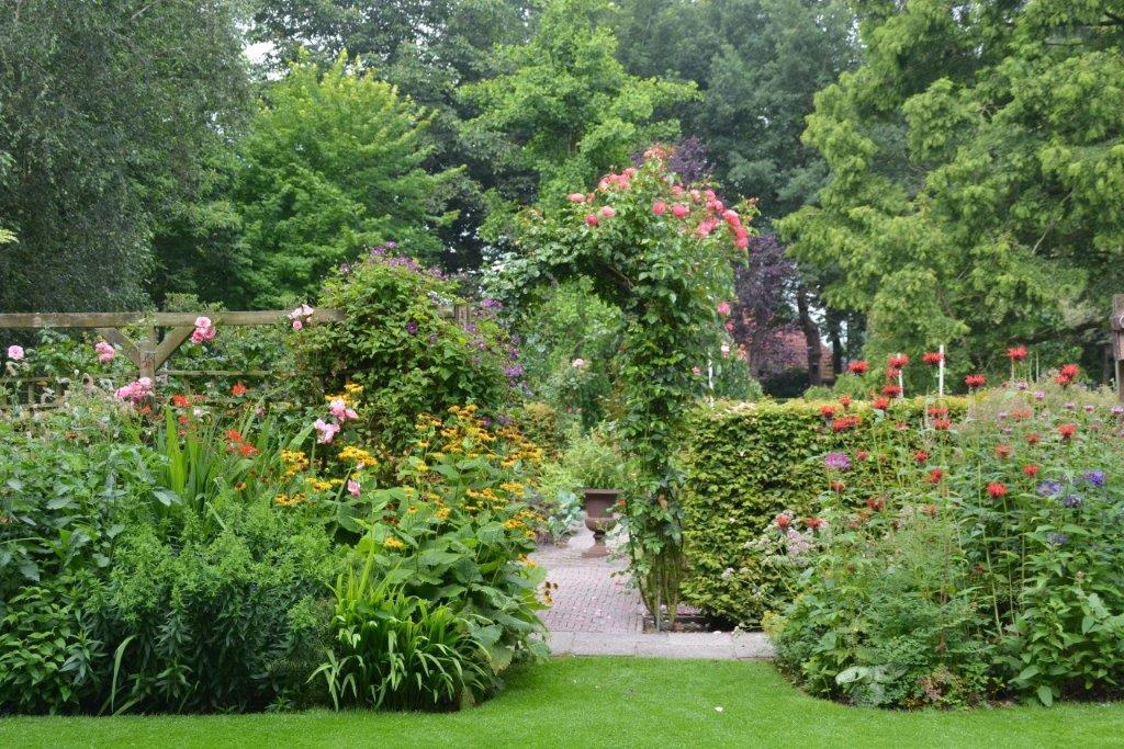 Vechtdal Gärten Het Tuinpad Op In Nachbars Garten