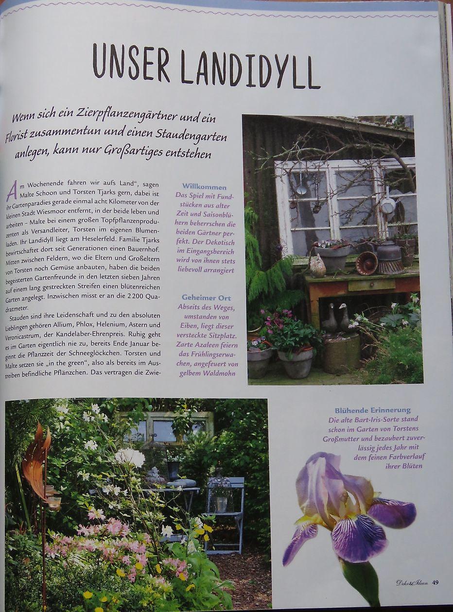 Wohnen & Garten Landhaus Unser Landidyll   Het Tuinpad Op / In ...
