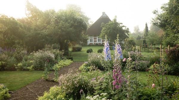 Bilder Garten Moorriem Elsfleth Moorriem Het Tuinpad Op In